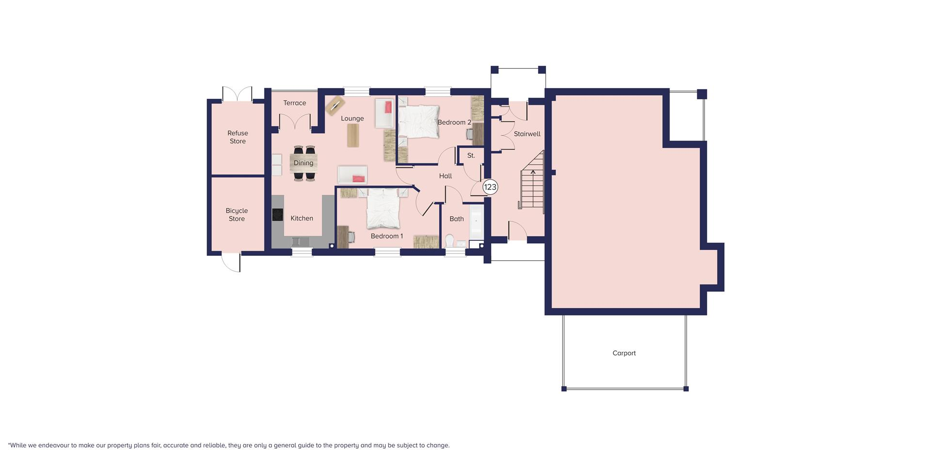 Kingfisher Grange, Bursledon_Floor plate_Plot 123_
